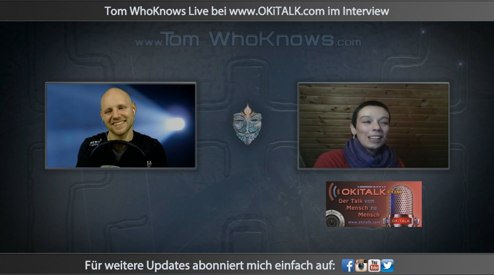 Tom WhoKnows Interview bei www.OKiTALK.com 07.01.2016
