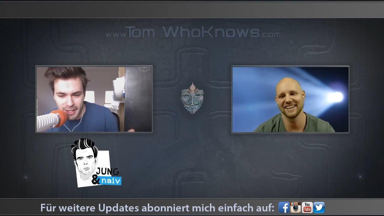 Tilo Jung (Jung & Naiv) @ Tom WhoKnows