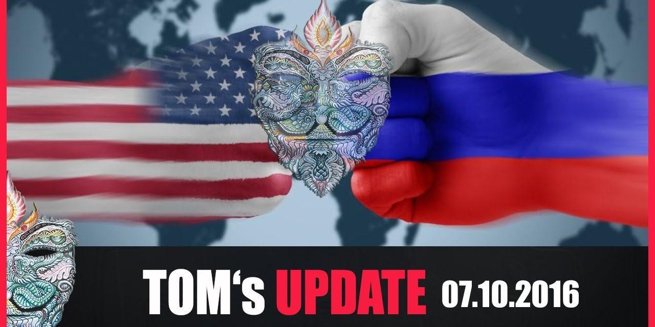 Tom's Update #5 (07.10.2016) + USA droht Russland + Russland verteidigt Syrien & warnt USA+