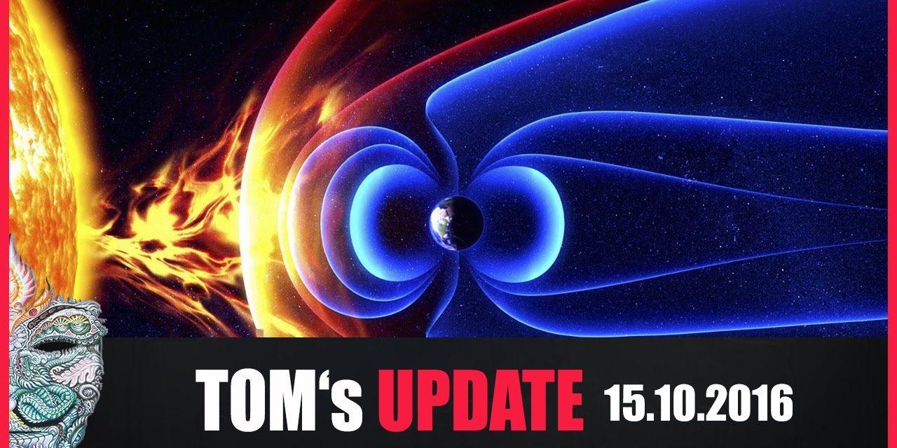 Tom's Update #7 (15.10.2016) USA bereiten sich auf Weltraumwetterereignis vor & wollen Putin hacken