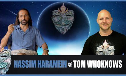 -GER- Nassim Haramein @ Tom WhoKnows 22.10.2016 – Was ist Realität, Künstliche Intelligenz & Matrix?