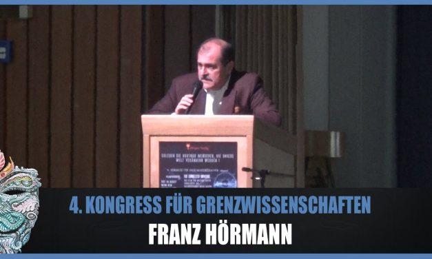 Franz Hörmann – Systemische Gesellschaftswissenschaft- 4. Kongress für Grenzwissenschaften