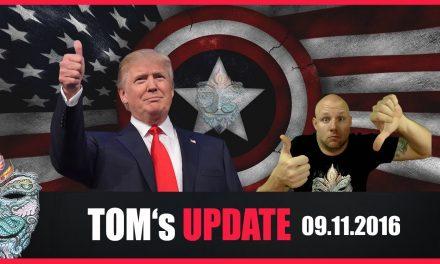 Tom's Update #8 (09.11.2016) Donald Trump ist neuer Präsident der USA! … und jetzt?