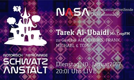 NASA No 10 – Zu Gast: CROPfm.at – Tarek Al Ubaidi