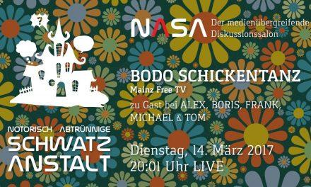 NASA No 12 – Zu Gast: Bodo Schickentanz  – Mainz FreeTV