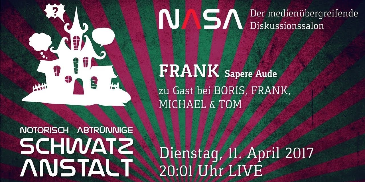 NASA No 13 – Zu Gast: Frank vom Youtube Blog Sapere Aude
