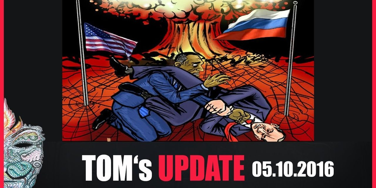 Tom's Update #4 (05.10.2016) +Russland bereitet sich auf Atomangriff vor. 40Millionen üben Ernstfall