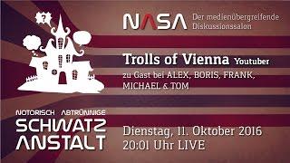 NASA No 7 – Zu Gast: Trolls of Vienna – US Debattendebakel, Chemnitz, Wikileaks, Trolle, uvm