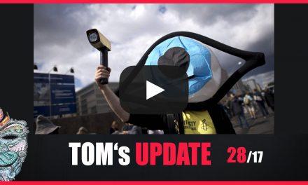 Tom's Update 28/17 – Neue Überwachungsgesetze, Gehirnchip Implantate,  Putsch Türkei uvm.