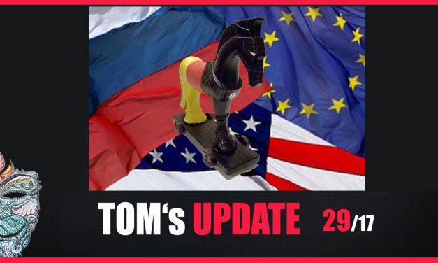 Tom's Update 29/17 – Bundestrojaner, Remote Viewing,  A.I, Flüchtlingskrise, USA, Russland u.v.m.