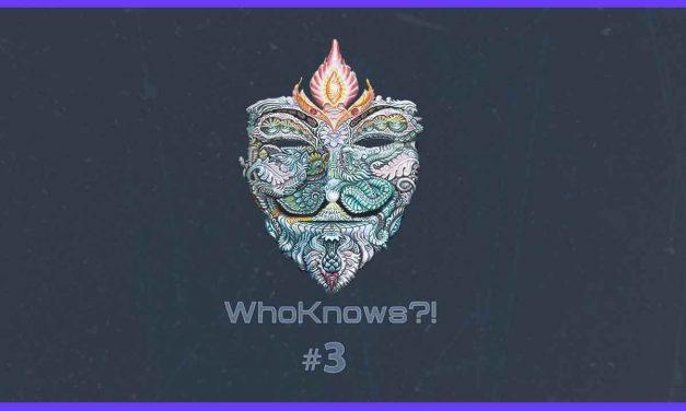 ✺ WhoKnows?! ✺ #3 – Wir suchen des Lösungs Rätsel