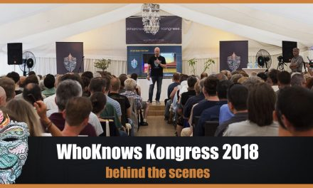 WhoKnows Kongress 2018 – behind the scenes – #Backstage :-)