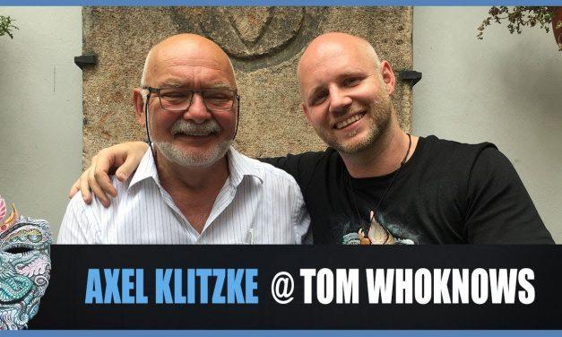 Axel Klitzke @ Tom WhoKnows 2018 – Verlorenes Wissen & Spiritualität in der heutigen Zeit