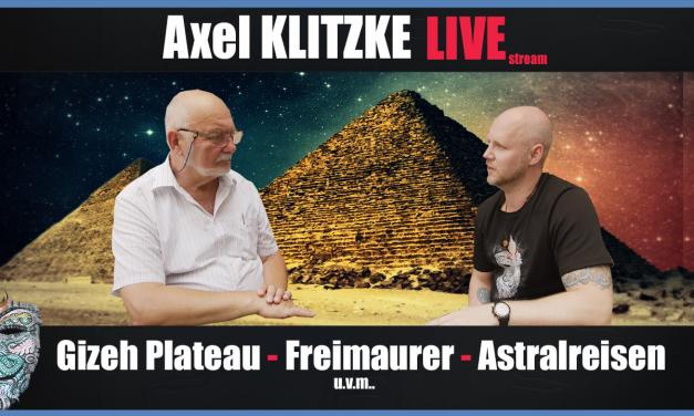 Axel Klitzke Live! Gizeh Plateau – Persönliche Freimaurer & Astralerfahrungen