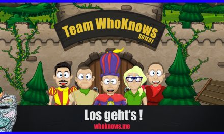  Team WhoKnows?! – Los geht's!  S01E01