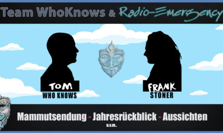 🔴 Jahresrückblick mit Frank Stoner & Radio Emergency – Tom WhoKnows & Team WhoKnows