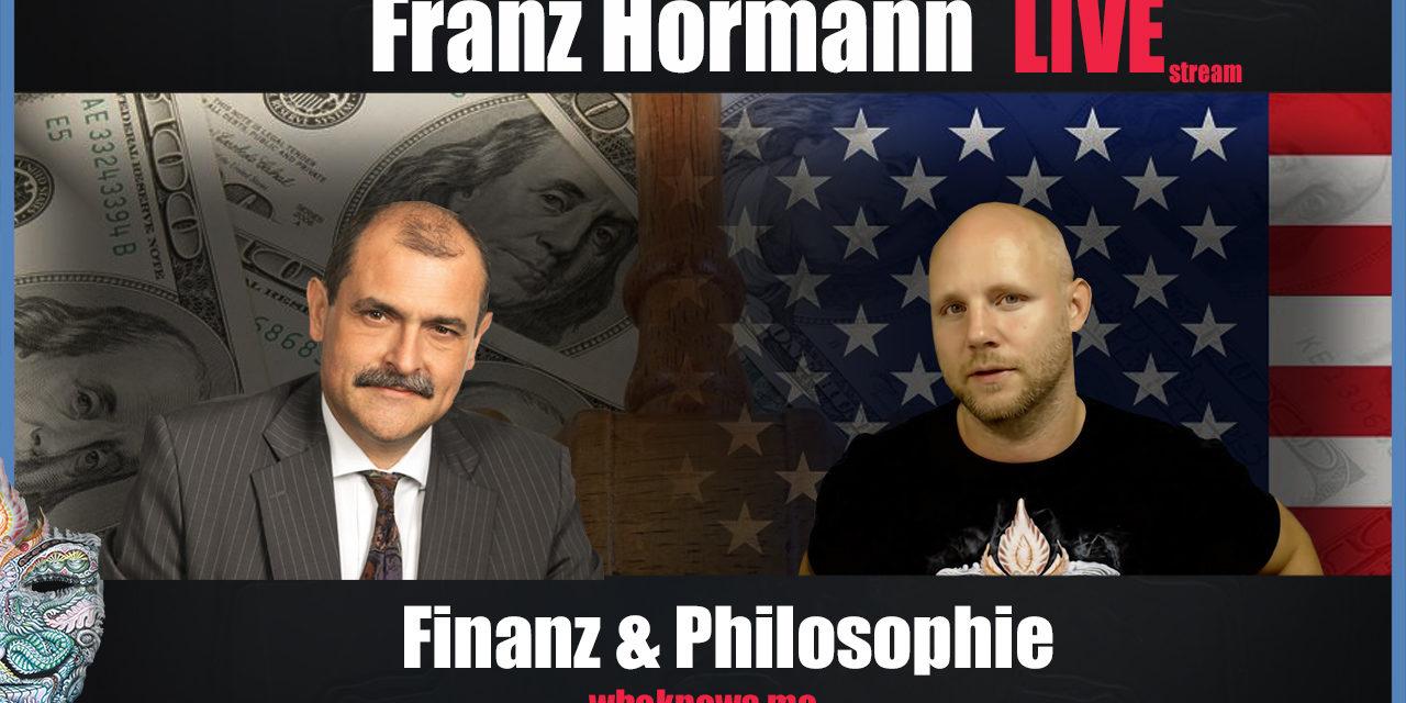 🔴 Franz Hörmann Live! Die Finanz & Philosophie in 2019
