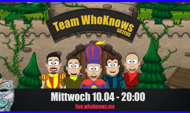  Team WhoKnows?! –  Neues aus der Welt des Innen & Außen – Zu Gast: Sabine Glocker – S02E05