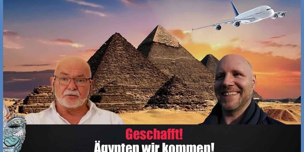 ✈ Geschafft! Wir fliegen nach Ägypten! ✈