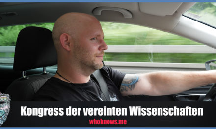 Kongress der vereinten Wissenschaften – Team WhoKnows?! on Tour!