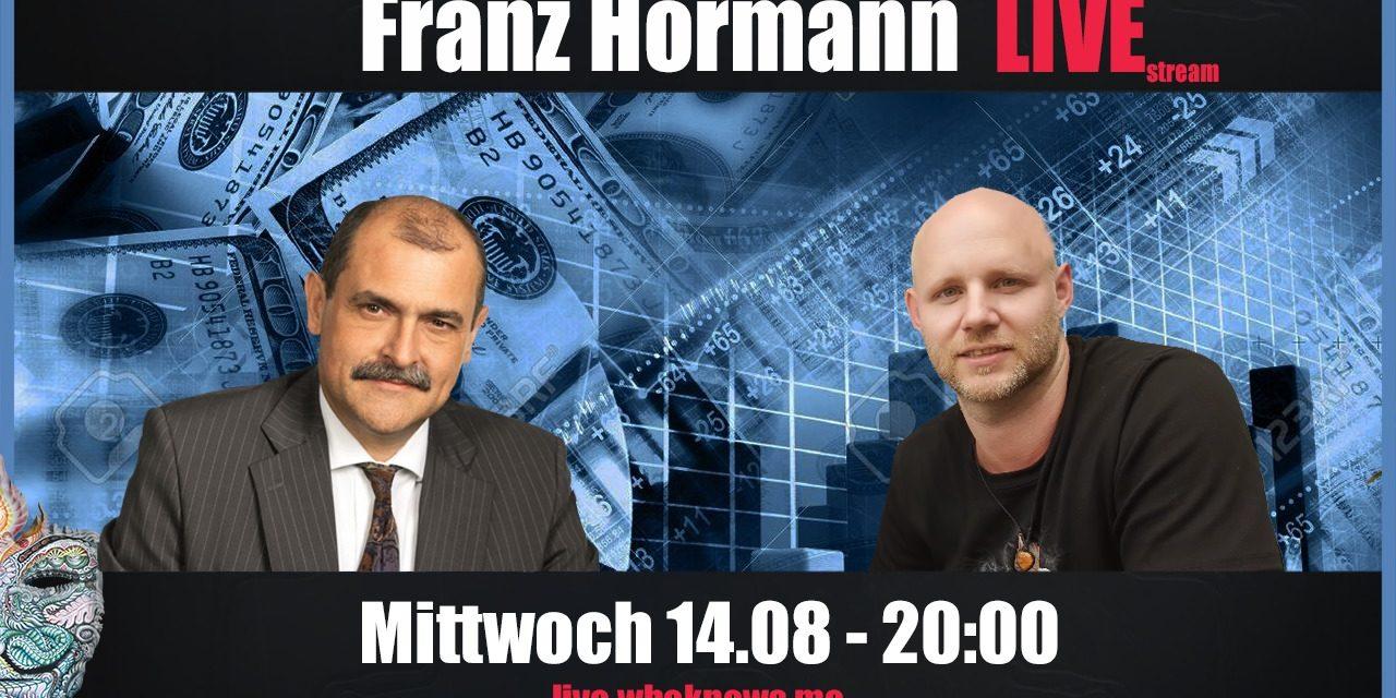 🔴 Franz Hörmann Live! Systemische Wissenschaft in der Neuen Zeit