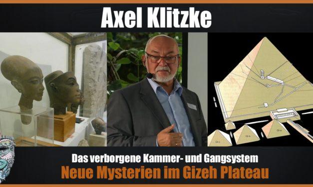 Axel Klitzke – Neue Mysterien im Gizeh Plateau – Das verborgene Kammer- und Gangsystem