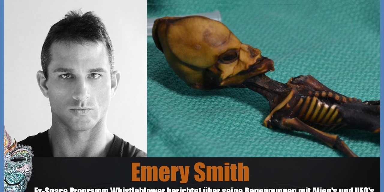 Emery Smith – Ex-Space Programm Whistleblower berichtet über seine Begegnungen mit Aliens und UFOs