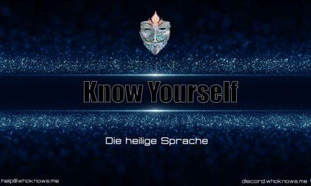Die heilige Sprache – #WhoKnows?! mit Klaus Dona & Damanhur