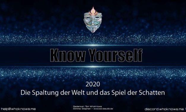 2020 – Die Spaltung der Welt und das Spiel der Schatten